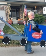 Cooper's Towing Service Homemade Costume