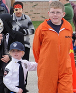Cop and Convict Costume