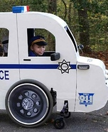 Cop Car Homemade Costume