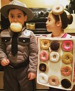 Cop & Doughnuts Homemade Costume