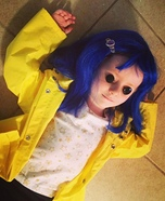 Coraline Homemade Costume