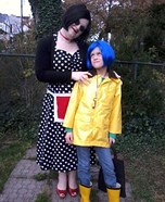Coraline and the Other Mother Homemade Costume
