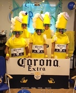 Group costume ideas - Corona 6 Pack Costume