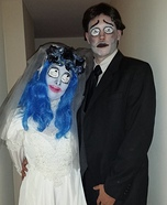 Corpse Bride and her Groom DIY Couple Costume