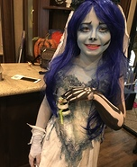 Corpse Bride Emily Homemade Costume