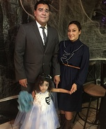 Corpse Bride Family Homemade Costume