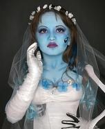 DIY Corpse Bride Girl's Costume
