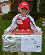 Costco Sample Lady Homemade Costume