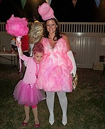 Homemade Cotton Candy Costume