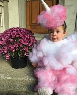 Cotton Candy Baby Homemade Costume