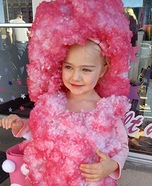 Cotton Candy Girl Homemade Costume