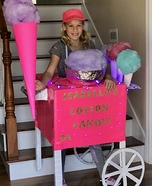 Cotton Candy Machine Homemade Costume