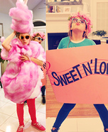 Cotton candy, sweet and low, let me see that tootsie roll Homemade Costume