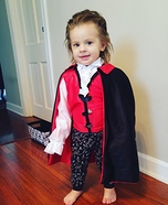 Count Jude Homemade Costume