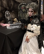 Countess Bride Homemade Costume