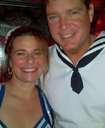 Couple of Sailors Homemade Costume