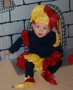 Court Jester Baby Boy Homemade Costume