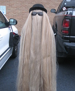 Cousin It Addams Family Homemade Costume