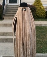 Cousin Itt Homemade Costume