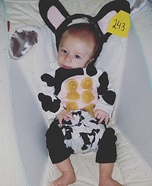 Cow Baby Homemade Costume