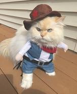 Cowboy Cat Costume