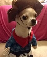 Cowboy Chihuahua Costume