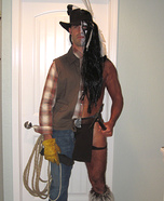 Cowboys and Indians Homemade Costume