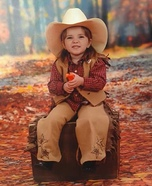 Cowgirl Child's Costume