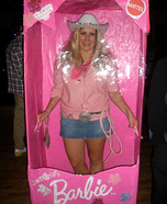 Cowgirl Barbie in the Box Costume