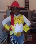 Cowgirl Jessie Homemade Costume
