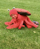 Crab Homemade Costume