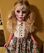Cracked Doll Homemade Costume