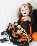 Cracked Doll Girl Costume