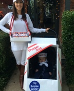 Parent and baby costume ideas - Cracker Jack Baby Costume