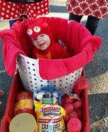Crawfish Baby Homemade Costume