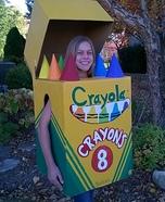 Crayola Crayon Box Homemade Costume