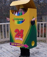 Homemade Crayolas Costume