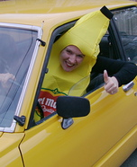 Crazy Banana Costume