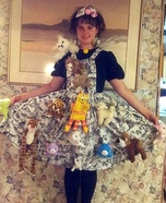 Creative Crazy Cat Lady Costume