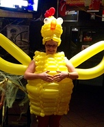Crazy Chicken Homemade Costume
