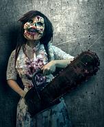 Crazy Doll Killer Homemade Costume