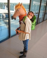 Crazy Human Horse Homemade Costume
