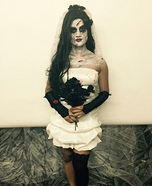 Creepy Bride Homemade Costume