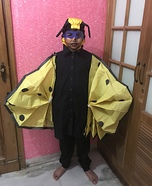 Creepy Bumblebee Homemade Costume