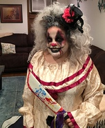 Creepy Clown Homemade Costume