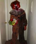 Adult Creepy Clown Costume