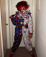 Creepy Clown Costume DIY