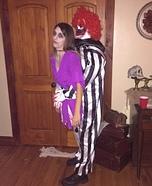 Creepy Clown Victim Homemade Costume