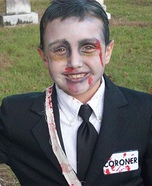Creepy Coroner Homemade Costume