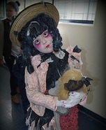 Creepy Doll Homemade Costume